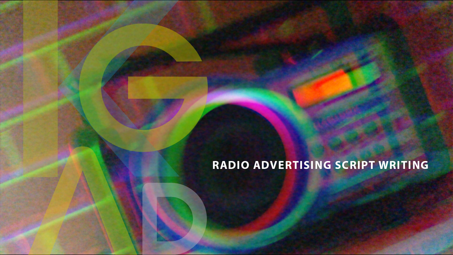 Radio Advertising Campaign Script Writing by KG Advertising Melbourne