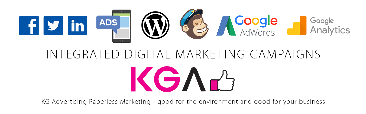 Integrated Digital Marketing campaigns - KG Advertising Melbourne